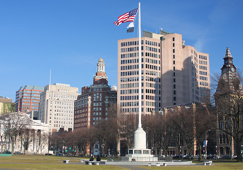 Downtown New Haven