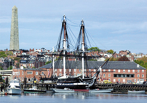 USS Constitution and the Charlestown Navy Yard