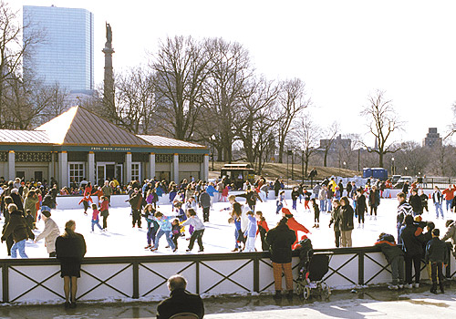 Frog Pond at Boston Common