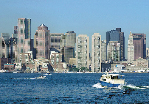 Boston Harbour Skyline