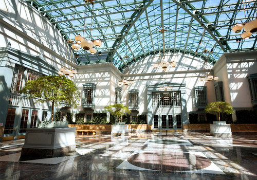 Winter Garden at Harold Washington Library