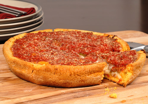 Chicago Deep Dish-style Pizza
