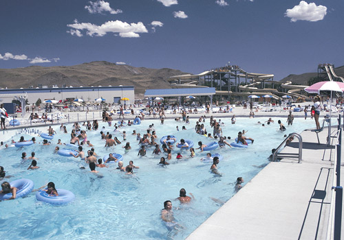 Wild Island Wave Pool