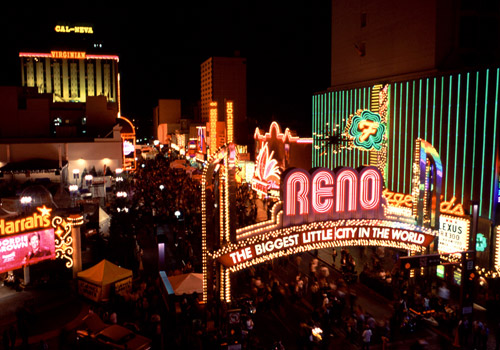 Reno Downtown at Night 