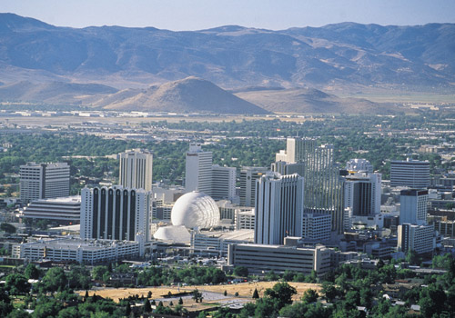 Reno Downtown Skyline
