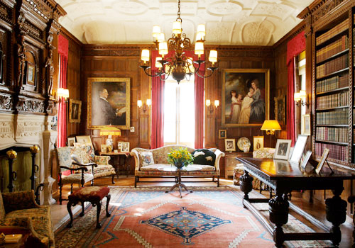 Library at Nemours Mansion & Gardens