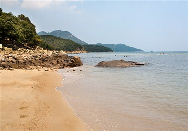 Llama Island Beach