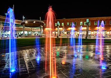 Main Street Square Fountains