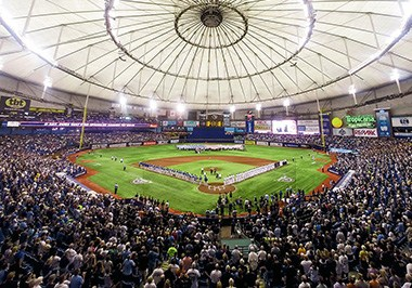 Tampa Bay Rays,-Tropicana Field, St. Petersburg