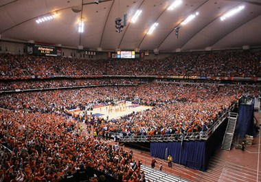 The Carrier Dome at Syracuse University