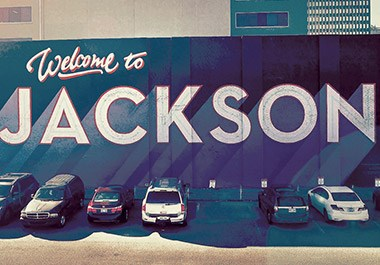 Welcome to Jackson's Mural in Downtown