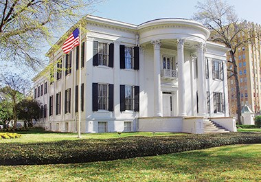 Mississippi Governor's Mansion in Downtown
