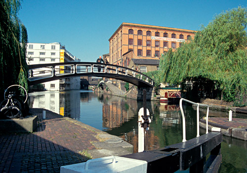 Regent's Canal at Camden Lock