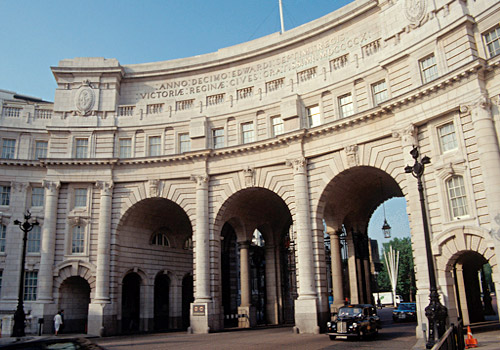 Admiralty Arch at The Mall