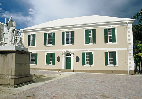 Senate Building Nassau