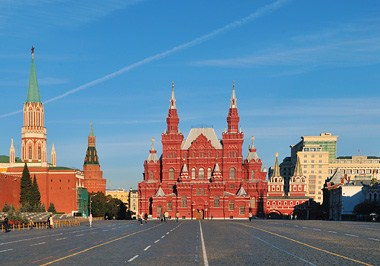 Red Square and Historical Museum
