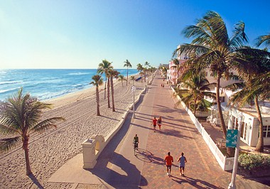 Boardwalk Hollywood Florida
