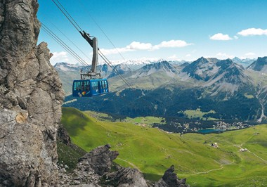 Arosa cable car