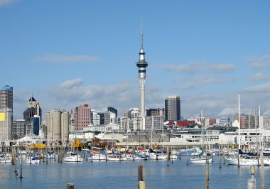 Auckland Sky Tower & Marina