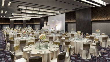 The New Grand Ballroom - Banquet Setup
