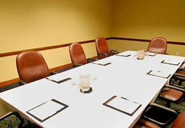 Conference-Style Meeting Room