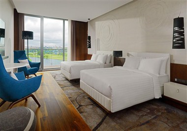 Classic Room with two Queen-size beds, River view
