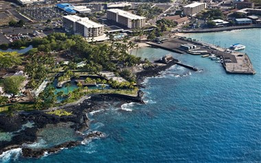 Aerial View of our Oceanfront Hotel
