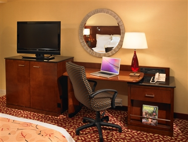 Guest Room Desk Area
