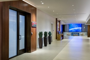 M Club Lounge Lobby Entrance