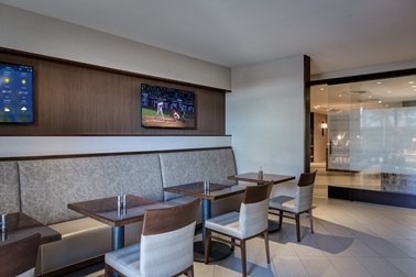 M Club Lounge Dining Area