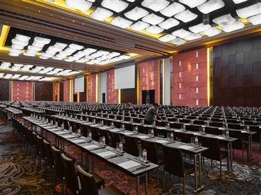 Marriott Grand Ballroom with Skyfold Technology