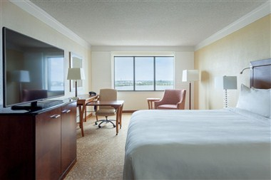 King Guest Room - West View