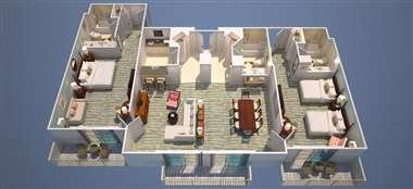 Presidential Suite - Two bedrooms