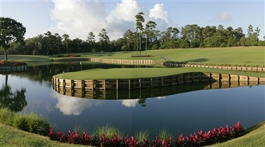 17th Island Green at TPC Sawgrass
