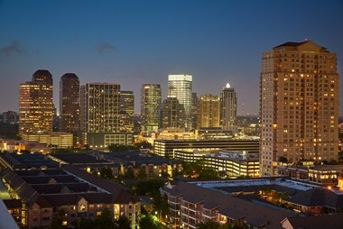 Houston Skyline View