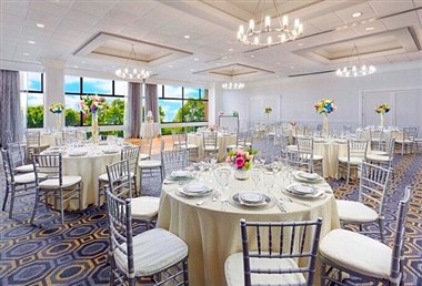 Waterfront Ballroom Wedding Reception