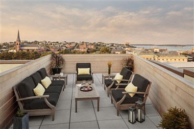 Penthouse outdoor patio