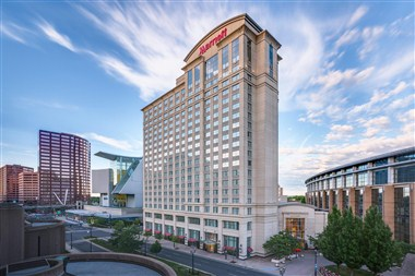 Hartford Marriott Downtown Exterior