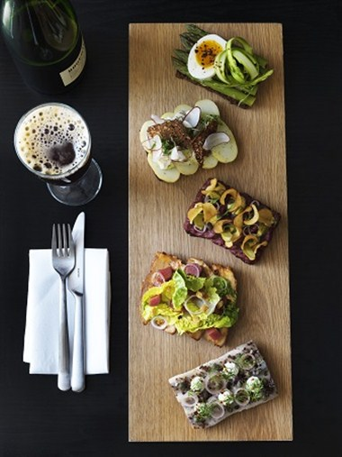 Smorrebrod (open sandwhich) and New Nordic cuisine