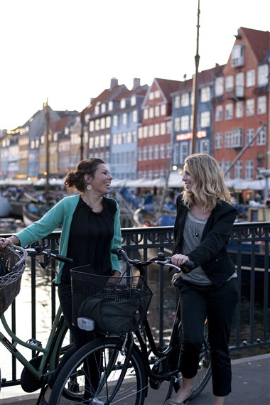 Copenhagen Shares the Bike Love