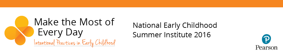 National Early Childhood Summer Institute 2016