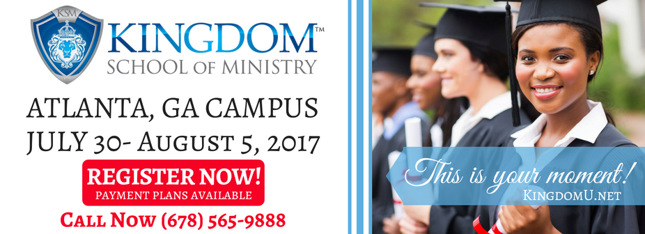 Kingdom School of Ministry - Atlanta, 2017