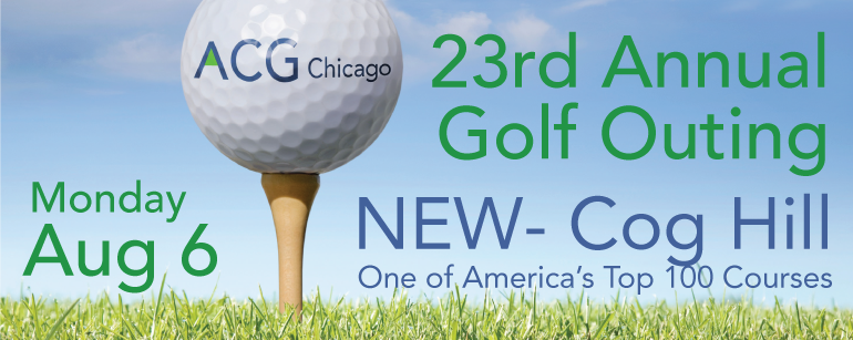 23rd Annual Golf Outing - Aug. 6