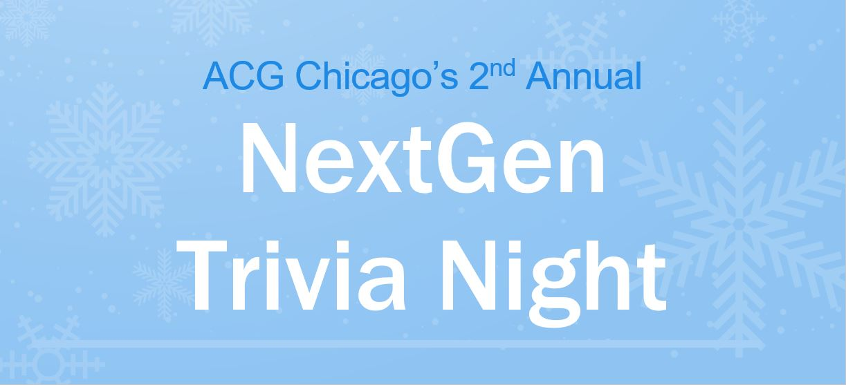 2019 NextGen Trivia Night