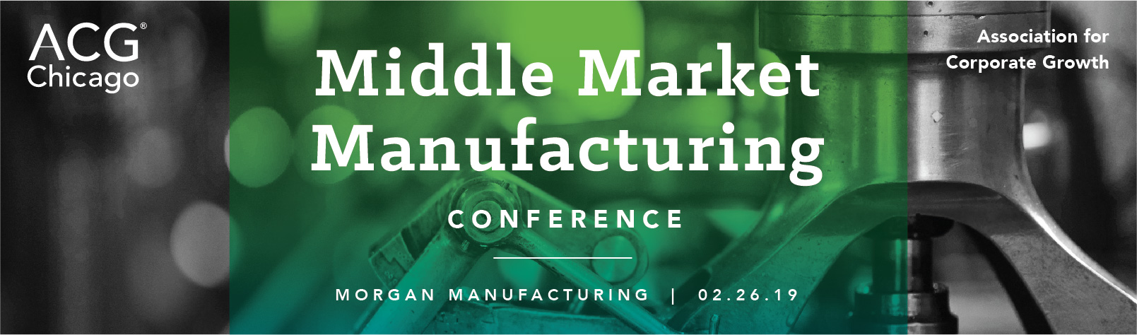 2019 Middle Market Manufacturing Conference