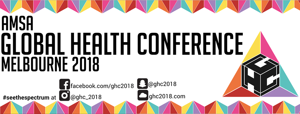 AMSA Global Health Conference 2018 | GHC18 Melbourne