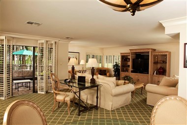 Executive VIP Suite Living Room