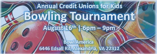 Annual CUs for Kids Bowling Tournament