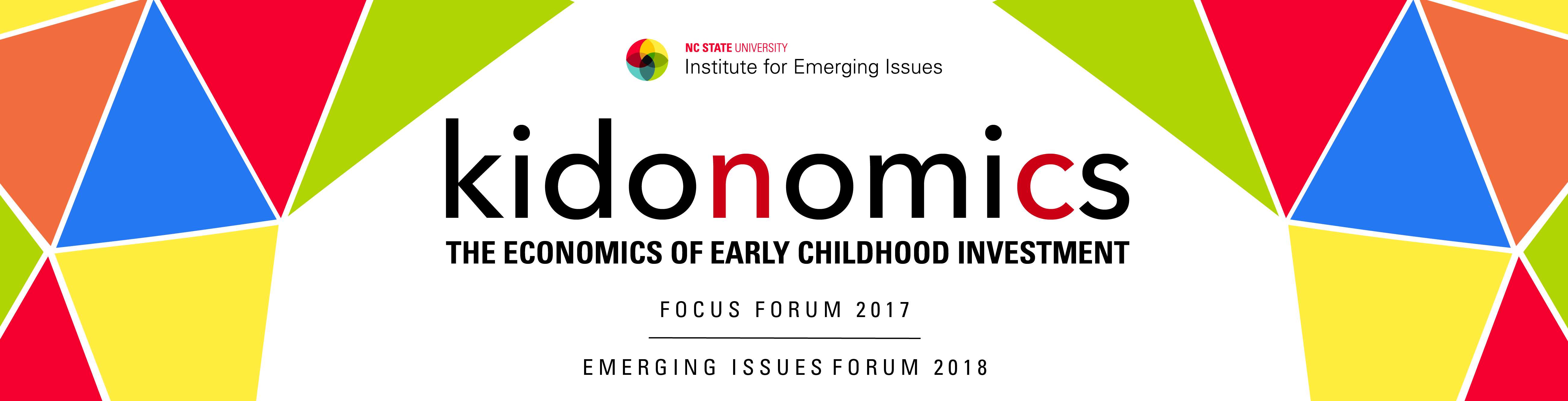 kidonomics: The Economics of Early Childhood Investment