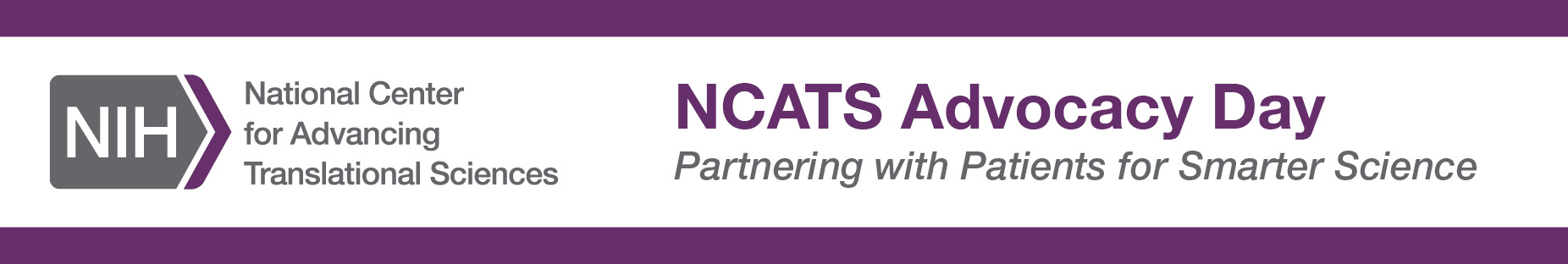 NCATS Advocacy Day ― Partnering with Patients for Smarter Science